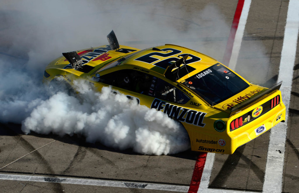 Joey Logano Wins at Las Vegas Motor Speedway