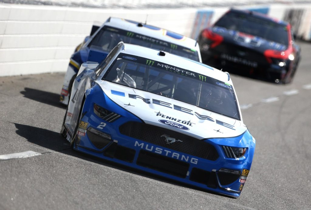 Chase Elliott came within feet of passing Brad Keselowski in the final laps of the STP 500 at Martinsville Speedway.