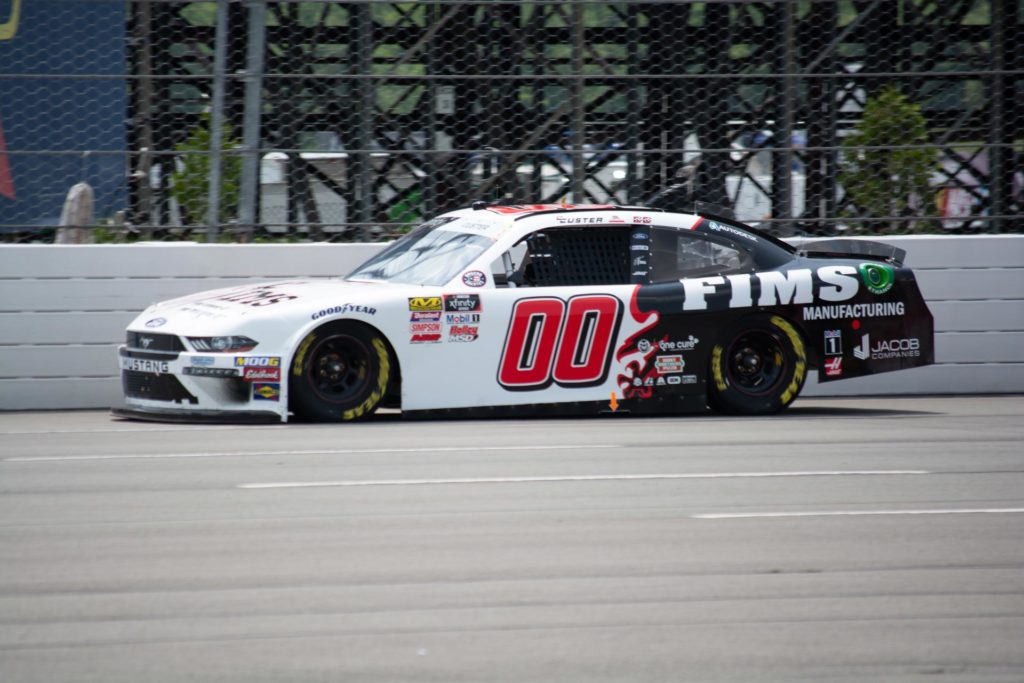 Cole Custer wins the Pocono Green 250 at Pocono Raceway