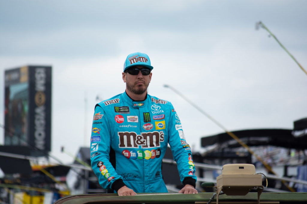 Kyle Busch wins the Pocono 400 at Pocono Raceway