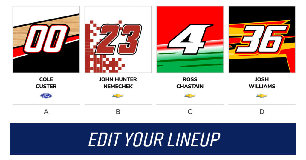 NASCAR Xfinity Series and NASCAR Gander Outdoors Truck Series fantasy NASCAR
