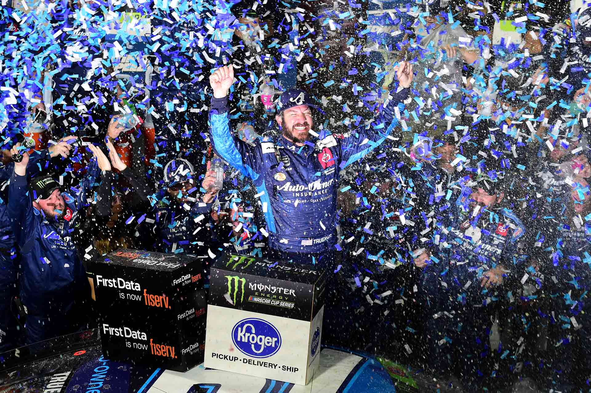 Truex Advances to Finale with Win in Martinsville