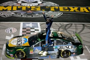 Kevin Harvick wins the AAA Texas 500 at Texas Motor Speedway