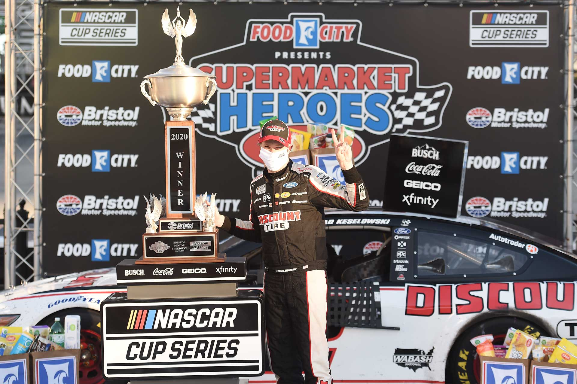 Keselowski Capitalizes Once Again in Supermarket Heroes 500